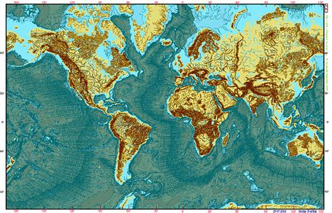 Acheter Carte Du Monde En Relief by Geomira Dezembro 2011