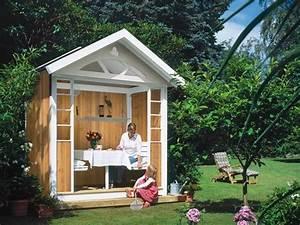 Gartenhäuschen Selber Bauen : gartenlaube f r die ganze familie selbstgebaut selber machen heimwerkermagazin ~ Whattoseeinmadrid.com Haus und Dekorationen