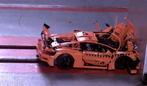 Mesmerizing LEGO Porsche 911 GT3 RS Crash Test