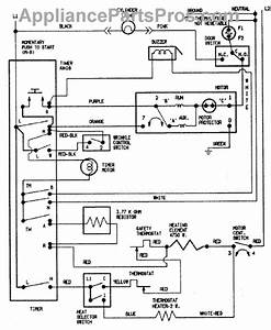 Parts For Crosley Cde7500w  Wiring Information Parts