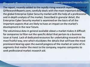 Global enterprise cyber security market 2016 industry ...