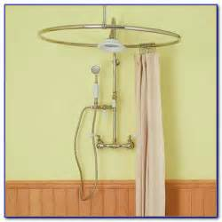 round shower curtain rod target chairs home decorating