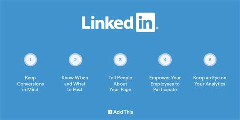 5 linkedin company page tips for beginners addthis blog
