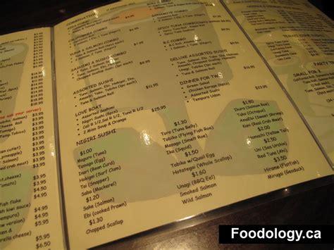 sushi garden menu sushi garden sushi unclean tables foodology