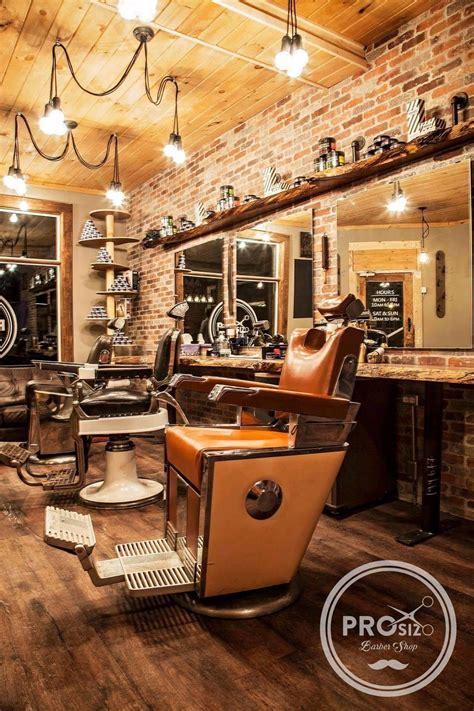rustic antic barber shop barber shop decor barber
