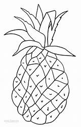 Pineapple Coloring Pages Printable Fruit Cool2bkids Outline Tart Taste Toddler Worksheets Drawings Pinecone Stained Boys Glass Tractor sketch template