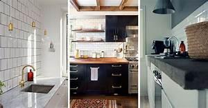 Plan de travail cuisine en 71 photos idees inspirations for Idee plan de travail cuisine