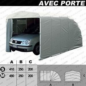 Garage Pour Voiture : abri autobox eco garage avec porte pour protection de ~ Voncanada.com Idées de Décoration
