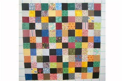 patch scrap quilt block pattern