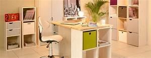 Bureau En Pin : bureau avec rangement tag res et biblioth ques en pin 4 meubles en pin pas cher ~ Teatrodelosmanantiales.com Idées de Décoration