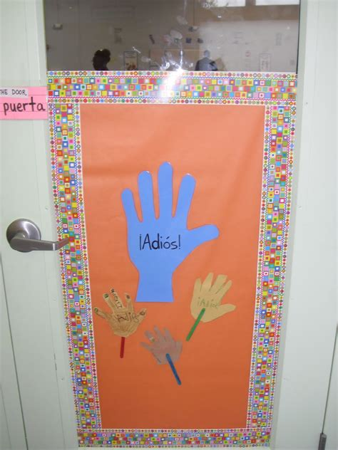 spanish classroom door decorations spanish simply