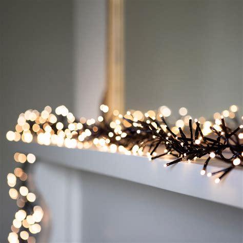 led garland xmas lights 5 ways to a simply stylish christmas fairy lights fun