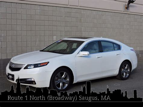 used 2013 acura tl sport 5 5l at auto house usa saugus