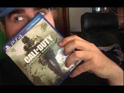 Modern Warfare Remastered Unboxing (cod4 Remastered