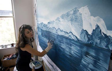 incredible finger painting artwork  zaria forman