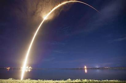 Satellite Spacex Space Launch Dazzling Nighttime