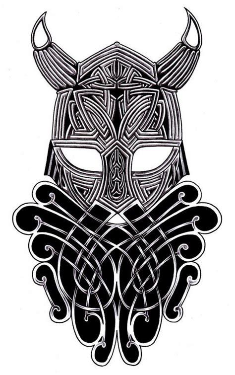 tribal viking warrior amazing tattoo flash tattoos