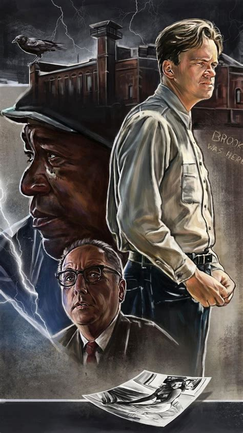 shawshank redemption  phone wallpaper moviemania