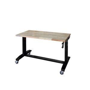 husky   adjustable height work table holtxdb