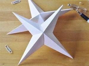 Papiersterne Basteln Anleitung : 3d papiersterne falten anleitung dekoking diy ~ Watch28wear.com Haus und Dekorationen