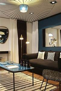 Lampe Bleu Canard : d co salon froid de canard d co bleu canard accro la lampe suspension en forme de chap ~ Teatrodelosmanantiales.com Idées de Décoration