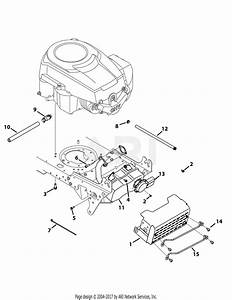 Mtd 13ax795s004  2015  Parts Diagram For Engine
