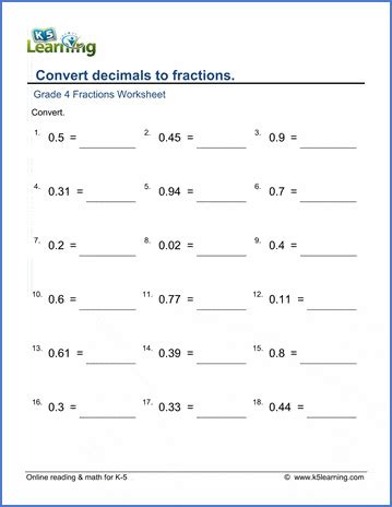 grade  math worksheets pages