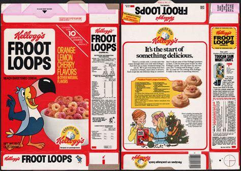 Kellogg's Froot Loops cereal box - Toucan Sam night light ...