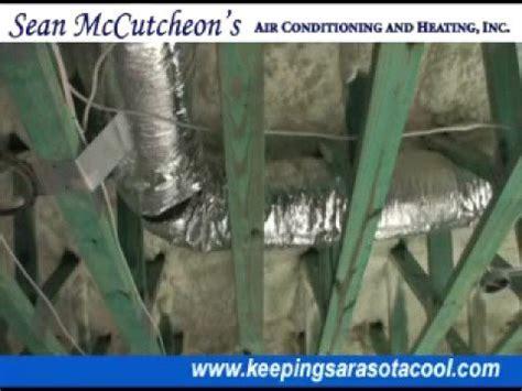 sean mccutcheons ac duct smoke test youtube