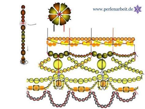 schlüsselanhänger mit perlen selber machen bastel anleitung zeichnung glocke aus perlen basteln