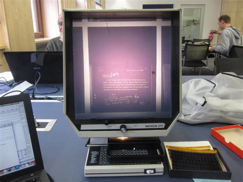 bright light computer screen post processing photographing microfiche readers bright