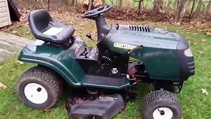 Working On The Craftsman Lt1000 Project Tractor
