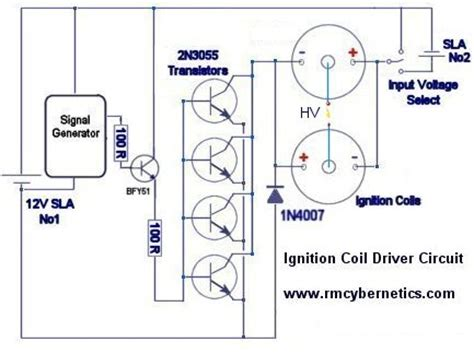 Diy Homemade Ignition Coil Driver Rmcybernetics