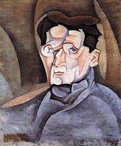 Portrait of Maurice Raynal, 1911 - Juan Gris - WikiArt.org