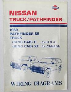 Buy 1989 Nissan Oem Pathfinder Se  Truck Wiring Diagrams
