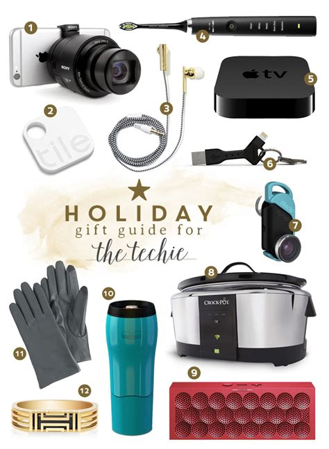 popular holiday gifts for techies gift guide for the techie