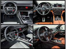 Photo Comparison Audi Q8 vs BMW X6 M