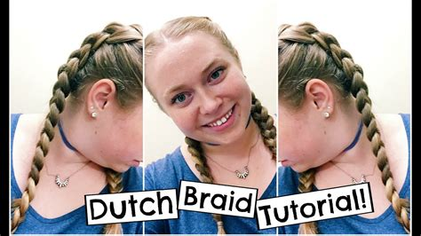 double dutch braid tutorial  beginners quick