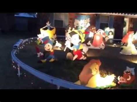 disney christmas yard decorations   lejeunes youtube