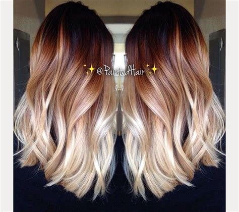 hombre hair color 17 best ideas about ombre hair on balayage