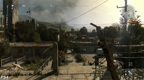 dying light ps4 dying light graphics improved in update on the ps4