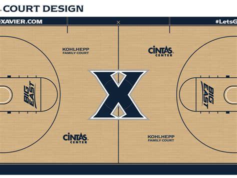 Xavier unveils new court design, names Cintas Center court ...