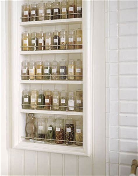 Built In Spice Rack by Picture Of Diy Built In Spice Racks