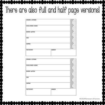 esl lesson plan card feedback template vipkid