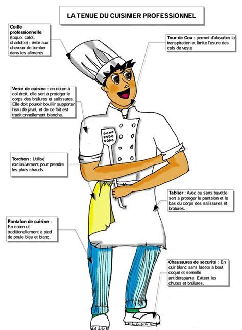tenu de cuisine les materiels et la tenue en cuisine lessons tes teach