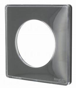 Plaque Schneider Odace : plaque schneider electric odace you 1 poste transparent ~ Dallasstarsshop.com Idées de Décoration