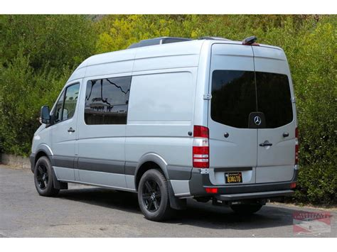 Featuring a mobile office with custom middle console, captain chairs, tables, and rear bathroom. 2016 Mercedes-Benz Sprinter 2500 Custom Camper for Sale | ClassicCars.com | CC-997398