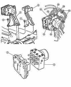 Dodge Grand Caravan Hydraulic Control Unit  Anti