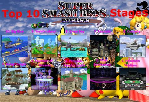 Super Smash Bros Melee Wallpaper Top 10 Super Smash Bros Melee Stages V1 0 By Powerpointsmasher On Deviantart