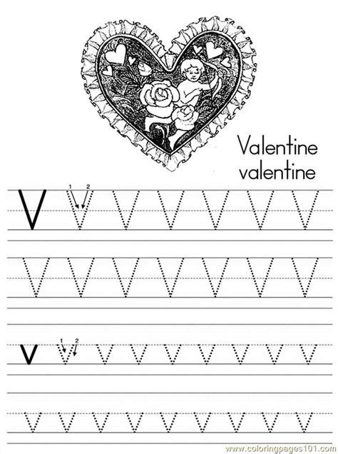 alphabet abc letter  valentine coloring pages   coloring page  alphabets coloring